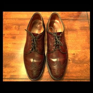 Allen Edmonds shell cordovan shoe
